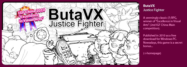 ButaVX: Justice Fighter