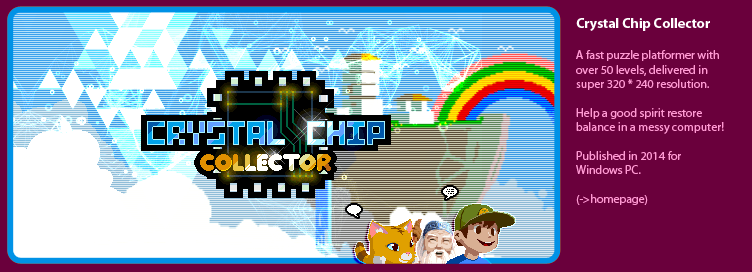Crystal Chip Collector - a puzzle platformer